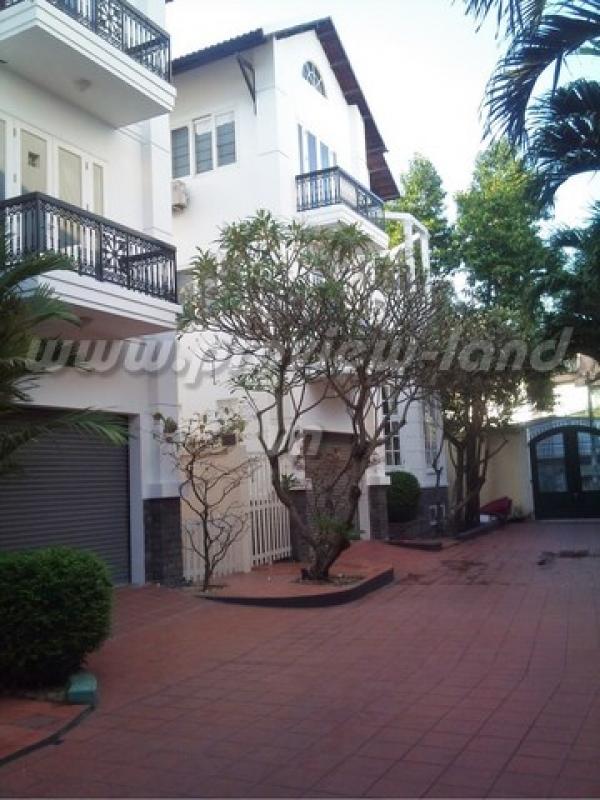 Cho thuê villa khu An Phú - An Khánh 550m2 nhà đẹp