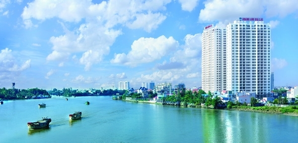 Hoang Anh River view apartment for rent ,Thao Dien, District 2