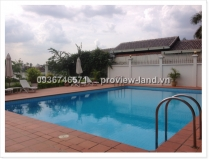 Biệt thự khu compound cho thuê đường Nguyễn Văn Hưởng view sông