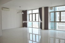 The Vista apartment for rent T3 tower high floor 171sqm 4BRs beautiful view empty house