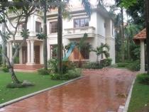 Cho thuê villa Trần Ngọc Diện 5PN sân vườn đẹp