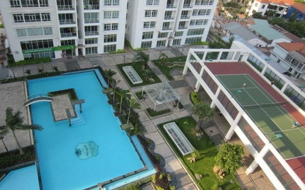 Hoang Anh Riverview apartment for sale, South East direction