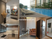 The Vista An Phu apartment for rent block T4 142sqm 3beds 1 maid room with nice river view