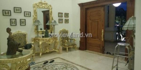 Biệt thự kiểu Pháp tại Thảo Điền cần bán có diện tích 1200m2 5PN