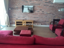 Penthouse for lease in Hoang Anh Riverview 240sqm 4 beds with garden
