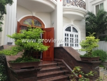 The garden villa for rent in Thao Dien ward, district 2
