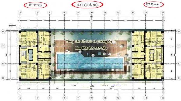 Bán căn hộ Cantavil Premier 125m2 3 phòng ngủ view sông