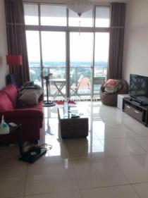 Cho thuê căn hộ DT 100m2 2PN The Vista tháp T3 đầy đủ nội thất với ban công view sông