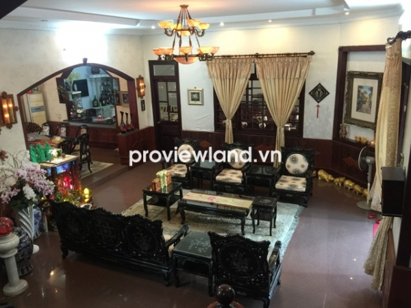 Villa for sale on Vo Truong Toan Street 430sqm 6 beds with garden