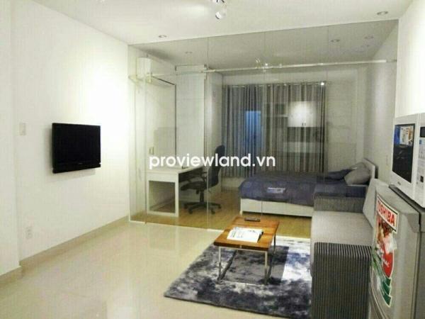 Cho thuê căn hộ dịch vụ 55m2 1PN đường Trần Hưng Đạo tiện nghi sang trọng