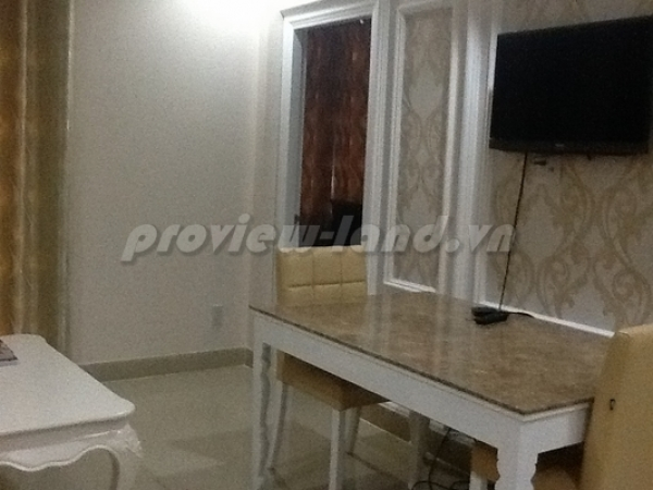 Serviced apartment for rent in District 3, 2 bedrooms