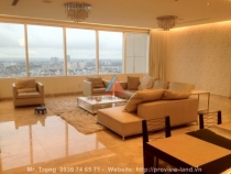 Saigon Pearl apartment penthouse for rent with 230sqm nice house