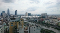 Flat for sale at Central Garden District 1 high floor 90sqm 2 beds spacious view to District 1