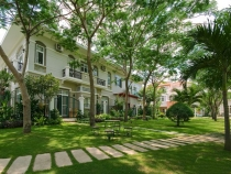 Nam Thien villa for sale in Phu My Hung, 288sqn, pink-book