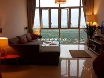 Cho thuê căn hộ 3 phòng ngủ The Vista An Phú tháp T1 view nhìn thành phố từ phòng khách