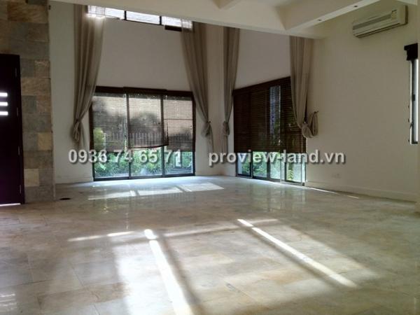 Biệt thự cho thuê quận 2 - Villa Riviera 320m2