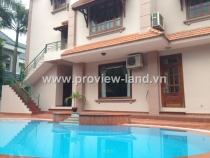 Villa Thao Dien Ward, District 2 for rent, luxury villas