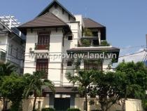 Cho thuê biệt thự bờ sông Sài Gòn Quận 2 giá rẻ