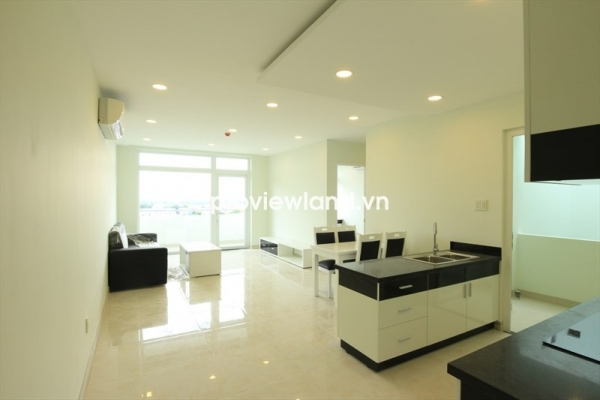 Serviced apartment for rent on Nguyen Van Huong 80sqm 2BRs full convenient