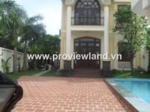 Bán biệt thự Thảo Điền có hồ bơi sân vườn đẹp