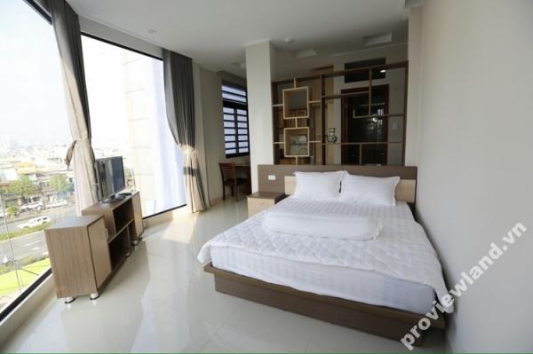 Căn hộ dịch vụ cho thuê trên đường Điện Biên Phủ 45m2 1 phòng ngủ