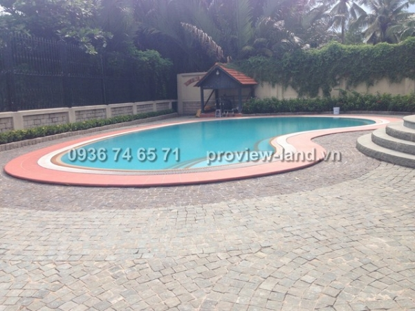 Villa Thao Dien for rent with 1600sqm beautiful house