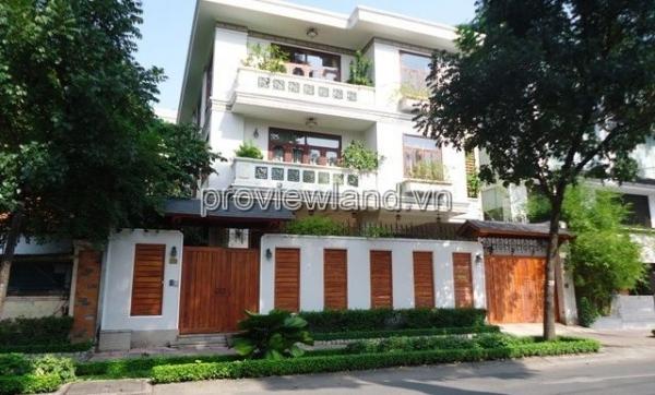 Bán biệt thự cao cấp 580m2 tại đường Nguyễn Đình Chiểu Quận 3