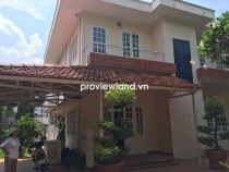 Villa Thao Dien for rent at Thien Nga Compound 200sqm 3BRs pool share and tennis court