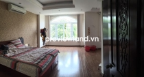 Villa for rent in Fideco Thao Dien 140sqm 6BRs has garden spacious internal road