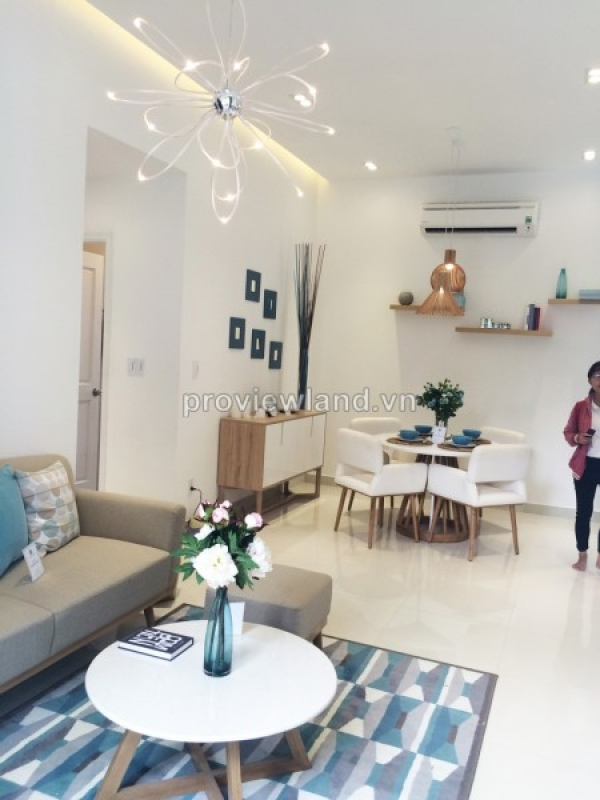 Florita Him Lam apartment for sale in District 7 on high floor 2 bedrooms and 3 bedrooms