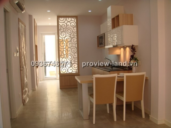 Service apartments for rent in District 3 on Tran Quoc Thao Street Dist 3