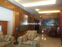 Cho thuê căn hộ 133m2 3PN Saigon Pearl tòa Ruby tầng thấp không gian sống đẳng cấp