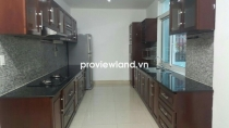 House for rent in District 7 near My Van 1 Villas with 3BRs 3 WC part furnished