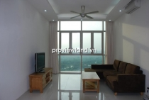 Apartment in The Vista for rent T2 Tower 2BRs fully equipped with premier furniture