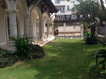 Thao Dien Villa for sale in District 2 with area of 600sqm, big garden