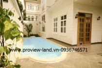 Cho thuê biệt thự Thảo Điền Quận 2 có hồ bơi lớn DT 520m2