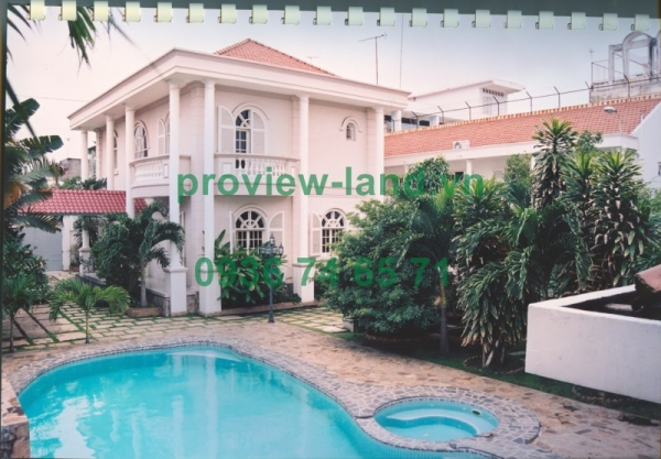 Villa for sale Street D1, Binh Thanh district 1000sqm