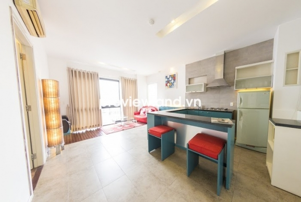 Serviced apartment for rent on Nguyen Dinh Chieu 50sqm 1BRs full furniture