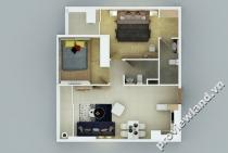 Cho thuê căn hộ Galaxy 9 tháp G2 67m2 2 phòng ngủ nội thất cao cấp