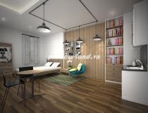 Cho thuê căn hộ dịch vụ quận 1 tại đường Trần Hưng Đạo