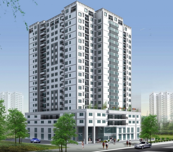 Bán cao ốc văn phòng MT Phan Đăng Lưu quận Phú Nhuận DT 10x35m với 1 Hầm - 8 Lầu