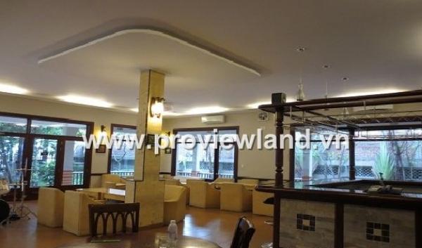 Thao Dien villa for sale in Nguyen Van Huong Street