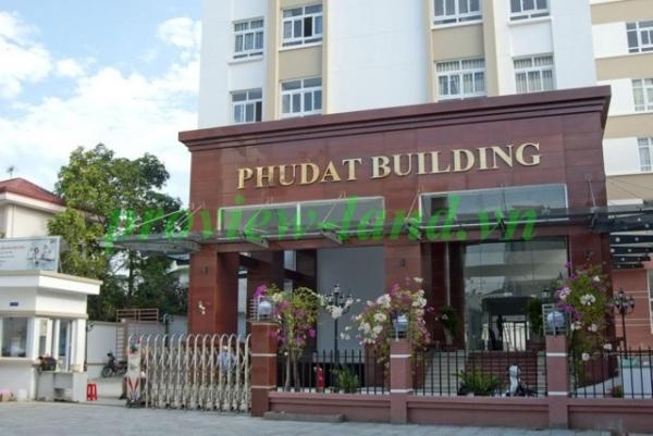 Cần cho thuê căn hộ Phú Đạt 3 phòng ngủ tầng cao view đẹp