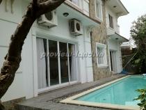 Cho thuê villa khu compound Trần Não 500m2 hồ bơi lớn