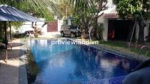 Biệt thự cho thuê đường 42 quận 2 750m2 4PN 5WC sân vườn hồ bơi gara đầy đủ