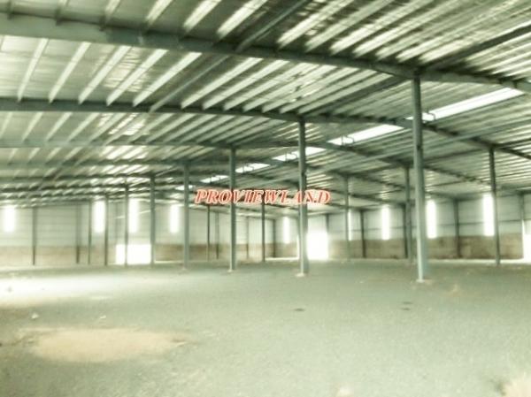 Cho thuê  nhà xưởng quận 8 nhà kho 500m2 bến Phú Định