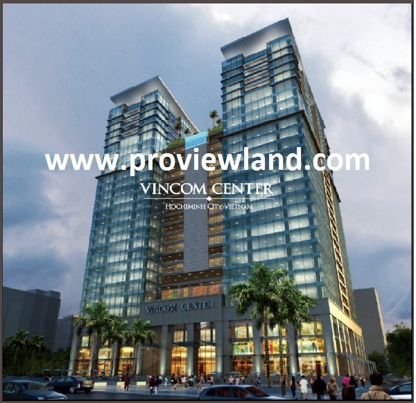 Leasing office building in Vincom Center, Le Thanh Ton street District 1