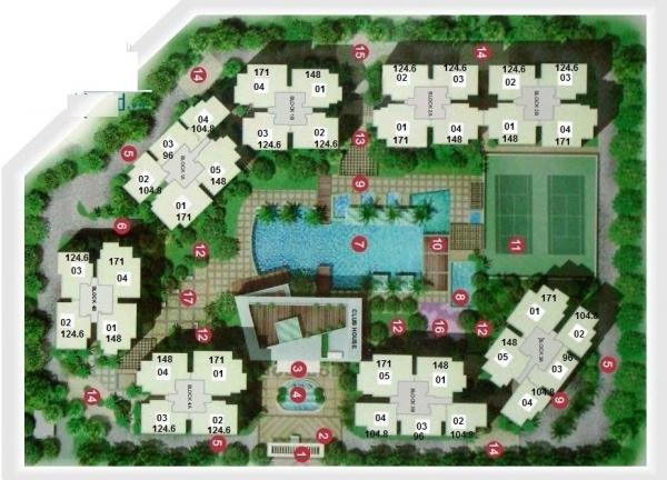 Bán căn hộ The Estella Quận 2 không nội thất