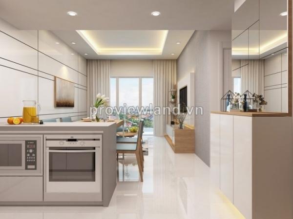 Cho thuê căn hộ tháp A lầu thấp 65m2 2PN đầy đủ nội thất-Tòa nhà Tropic Garden quận 2