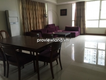 Cho thuê căn hộ cao cấp 157m2 - 3PN The Manor HCMC tầng thấp view sông và view quận 1